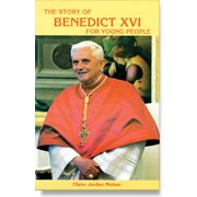 Book cover: 'The Story of Pope Benedict XVI for Young People'