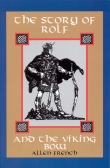 Book cover: 'The Story of Rolf and the Viking Bow'