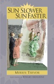 Book cover: 'Sun Slower, Sun Faster'