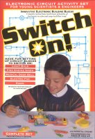 Book cover: 'Switch On!: Innovative Electronic Building Blocks'