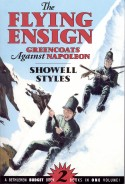Book cover: 'The Flying Ensign: Greencoats against Napoleon'