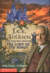 Book cover: 'J.R.R. Tolkien: The Man Who Created the Lord of the Rings'