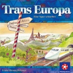 Book cover: 'Trans Europa: A Tactical Track-building Game'