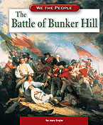 Book cover: 'The Battle of Bunker Hill'