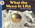 Book cover: 'What the Moon is Like'