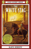 Book cover: 'The White Stag'