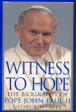 Book cover: 'Witness to Hope: The Biography of Pope John Paul II'