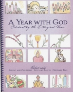 Book cover: 'A Year With God: Celebrating the Liturgical Year'