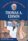 Book cover: 'Thomas A. Edison: Young Inventor'