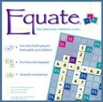 Book cover: 'Equate: The Equation Thinking Game'