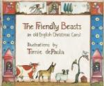 Book cover: 'The Friendly Beasts: An Old English Christmas Carol'