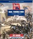 Book cover: 'History of Us, Volume 6: War, Terrible War'