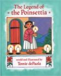 Book cover: 'The Legend of the Poinsettia'