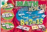 Book cover: 'Math Memory: A Game of Concentration to Build Math Skills'