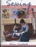 Book cover: 'Sewing with Saint Anne: A Sewing Book for Catholic Girls'